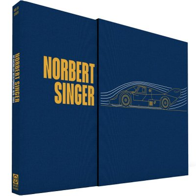 NORBERT SINGER - MY RACING LIFE WITH PORSCHE 1970-2004 - COLLECTOR'S EDITION