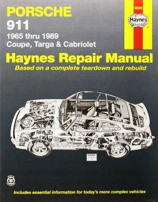 PORSCHE 911 1965 THRU 1989 COUPE,TARGA & CABRIOLET