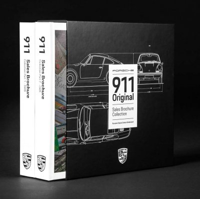 PORSCHE 911 SALES BROCHURE COLLECTION (2 VOLUMES)