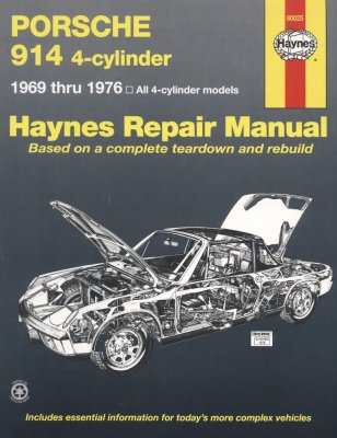 PORSCHE 914 4-CYLINDER 1969-1976 ALL 4-CYLINDER MODELS