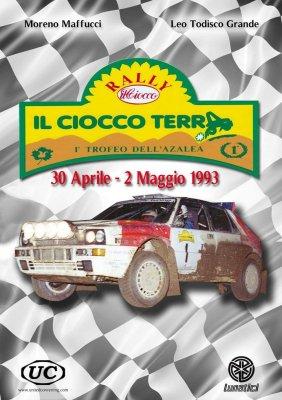 RALLY IL CIOCCO TERRA - 30 APRILE-2 MAGGIO 1993