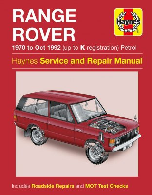 RANGE ROVER 1970 TO OCT 1992 (UP TO K REGISTRATION) PETROL