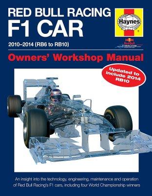RED BULL RACING F1 CAR OWNERS' WORKSHOP MANUAL