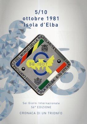 SEI GIORNI INTERNAZIONALE ISOLA D'ELBA 5/10 OTTOBRE 1981