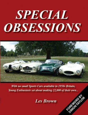 SPECIAL OBSESSIONS - A HISTORY OF BRITISH SPECIALS 1947-62 VOLUME 1