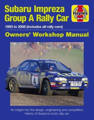 SUBARU IMPREZA WRC MANUAL