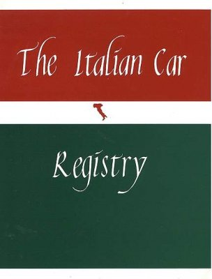 THE ITALIAN CAR REGISTRY (ORIGINAL EDITION)
