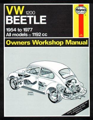 VW BEETLE 1200 OWNERS WORKSHOP MANUAL (036)