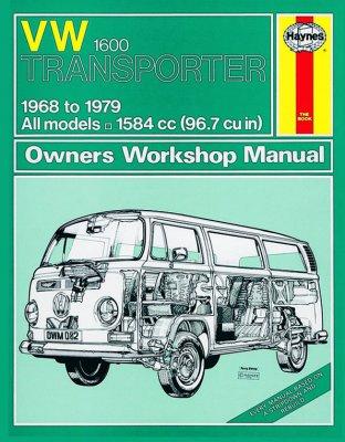 VW TRANSPORTER 1600 (68 - 79) HAYNES REPAIR MANUAL (082)
