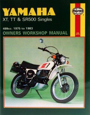YAMAHA XT, TT & SR500 SINGLES 499CC. 1975 TO 1983