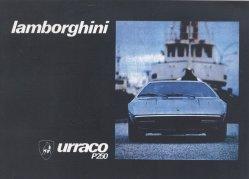 LAMBORGHINI URRACO P250 USO E MANUTENZIONE