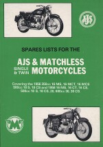 AJS & MATCHLESS SINGLE E TWIN MOTORCYCLES