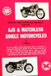 AJS & MATCHLESS SINGLE MOTORCYCLES