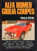 ALFA ROMEO GIULIA COUPES 1963-1976