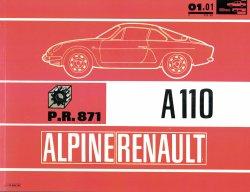ALPINE RENAULT A110 CATALOGO DEI PEZZI DI RICAMBIO
