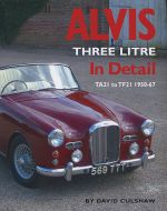 ALVIS THREE LITRE IN DETAIL TA21 TO TF21 1950-1967