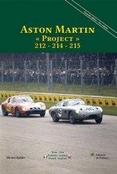 "ASTON MARTIN ""PROJECT"" 212 - 214 - 215"