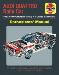 AUDI QUATTRO RALLY CAR ENTHUSIASTS' MANUAL
