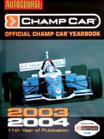 AUTOCOURSE CHAMP CAR 2003-2004 OFFICIAL CHAMP CAR YEARBOOK