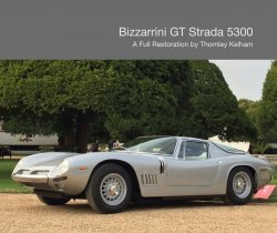 BIZZARRINI GT STRADA 5300 - A FULL RESTORATION BY THORNLEY KELHAM