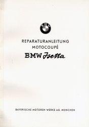 BMW ISETTA REPARATURANLEITUNG MOTOCOUPE'