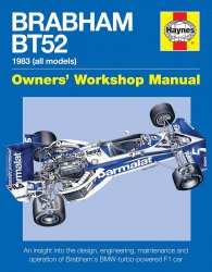 BRABHAM BT52 OWNERS' WORKSHOP MANUAL
