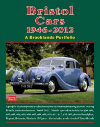 BRISTOL CARS 1946-2012 A BROOKLANDS PORTFOLIO