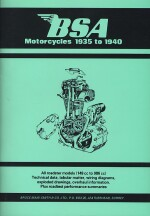 BSA MOTORCYCLES 1935 TO 1940