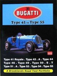 BUGATTI TYPE 41 TO TYPE 55