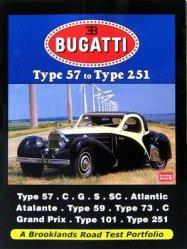 BUGATTI TYPE 57 TO TYPE 251