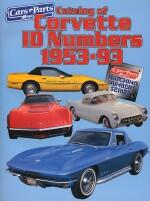 CATALOG OF CORVETTE ID NUMBERS 1953-93