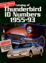 CATALOG OF THUNDERBIRD ID NUMBERS 1955-1993