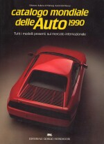 CATALOGO MONDIALE DELLE AUTO 1990