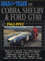 COBRA SHELBY & FORD GT40 1962-1992