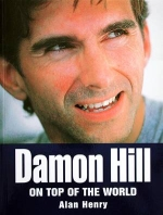 DAMON HILL ON TOP OF THE WORLD