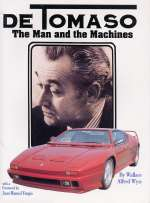 DE TOMASO THE MAN AND THE MACHINES