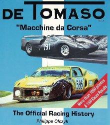 DE TOMASO THE OFFICIAL RACING HISTORY