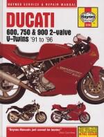 DUCATI 600, 750 & 900 2-VALVE V-TWINS '91 TO '96  (3290)