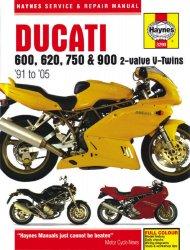 DUCATI 600, 750 & 900 (91-05)