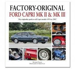 FACTORY ORIGINAL FORD CAPRI MK2 & MK3
