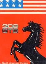 FERRARI 308 GTB NORTH AMERICAN VERSION USO E MAN. (ORIGINALE)