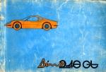 FERRARI DINO 246 GT CATALOGO  RICAMBI (ORIGINALE)