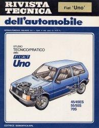 FIAT UNO 45/45ES 55/55S 70S STUDIO TECNICO/PRATICO