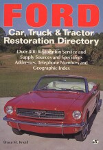 FORD CAR, TRUCK & TRACTOR RESTORATION DIRECTORY