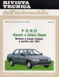 FORD ESCORT E ORION DIESEL BEERLINE E BREAK CLIPPER A PARTIRE DAL 1991