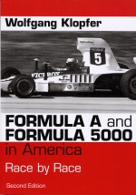 FORMULA A AND FORMULA 5000 IN AMERICA RACE BY RACE