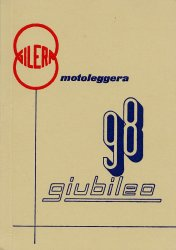 GILERA GIUBILEO 98 USO E MANUTENZIONE