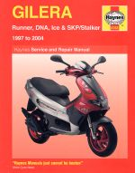 GILERA RUNNER, DNA, ICE & SHP/STALKER (4163)