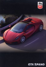GTA SPANO BROCHURE (ORIGINALE)