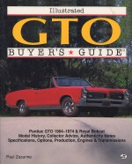 GTO ILLUSTATED BUYER'S GUIDE